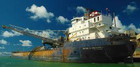 Prekybos laivynas = nemaža dalis šiltnamio dujų emisijų