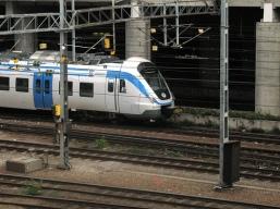 Traukiniai, ypač Skandinavijoj, yra nepalyginamai labiau eko-draugiški už lėktuvus ir automobilius