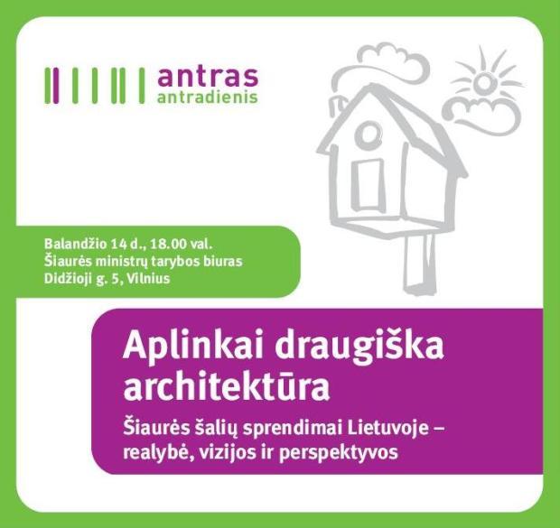 Aplinkai draugiška architektūra