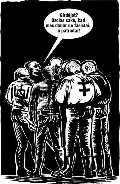 Skinai - fasistai - patriotai