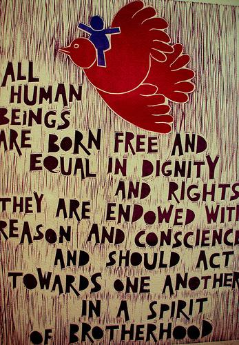Jokių įstatymų, ribuojančių žmogaus teises!